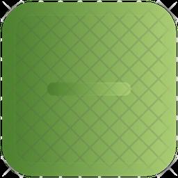 Minus Gradient Icon