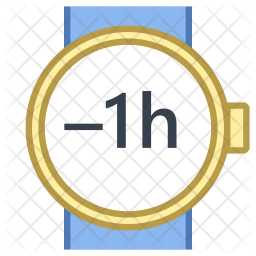 Minus hour Icon