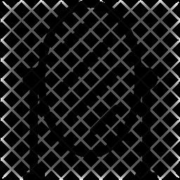 Mirror Glyph Icon