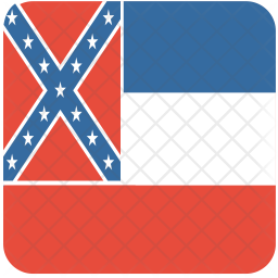Mississippi Flag Icon