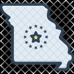 Missouri Map Icon