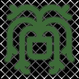 Mistletoe Cactus Icon