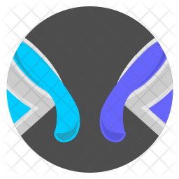 Mix color Flat Icon