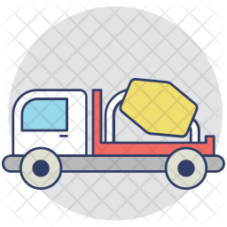 Mix Truck Icon