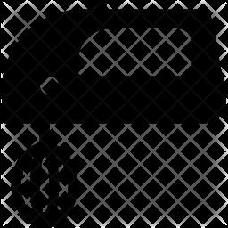 Mixer Glyph Icon