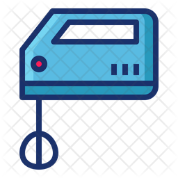 Mixer Colored Outline Icon