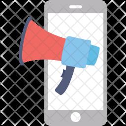 Mobile Advert Icon
