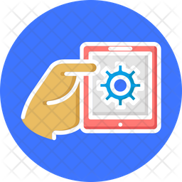 Mobile App Development Isolated Vector Icon Which Can Easily Modify Or Edit Icon