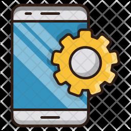Mobile apps development Icon