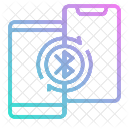 Mobile Bluetooth Icon
