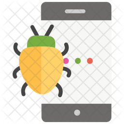 Mobile Bug Icon