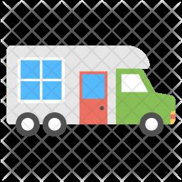 Mobile Cabin Icon
