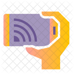 Mobile Cast Flat Icon