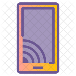 Mobile Cast Icon
