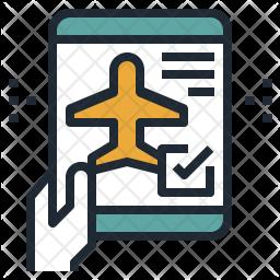 Mobile Checkin Icon