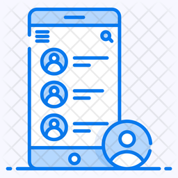 Mobile Contacts Icon