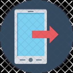 Mobile Data Share Icon