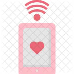 Mobile dating app Icon