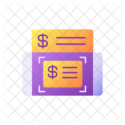 Mobile deposits Icon