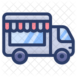 Mobile Food Cart Icon