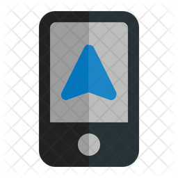 Mobile Gps Icon Of Flat Style Available In Svg Png Eps Ai Icon Fonts