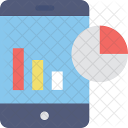 Mobile Graphs Icon