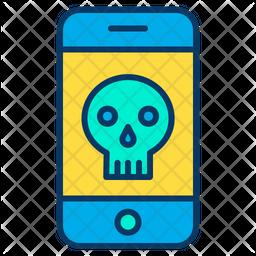 Mobile hacker Icon