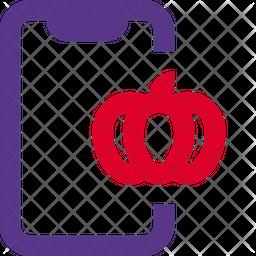 Mobile Halloween Dualtone Icon
