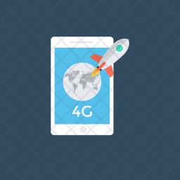 Mobile Internet Icon