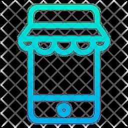 Mobile Kiosk Icon
