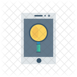 Mobile learning Flat Icon