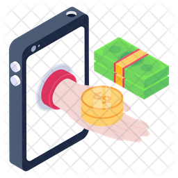 Mobile Loan Icon