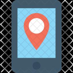 Mobile Maps Icon