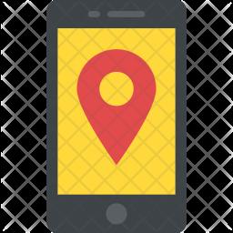 Mobile Navigation Flat Icon