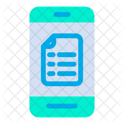 Mobile Notes Icon