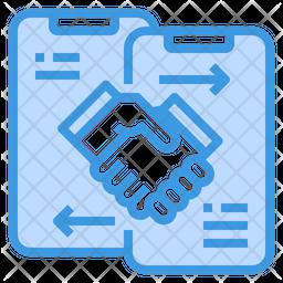 Mobile Partnership Icon