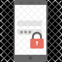 Mobile Passcode Icon