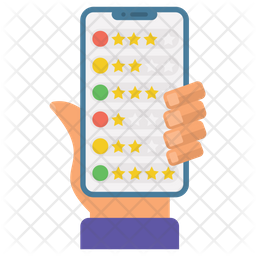 Mobile Ratings Icon