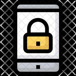 Mobile Screen Lock Icon