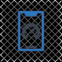 Mobile Speed Icon