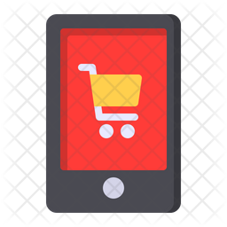 Mobile Store Flat Icon