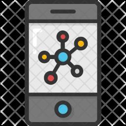 Mobile study Icon