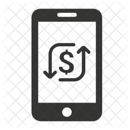 Mobile transactions Icon
