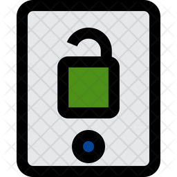 Mobile Unlock Icon
