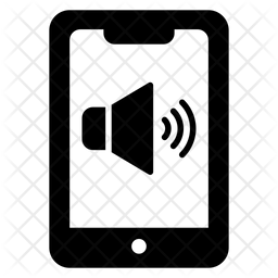 Mobile Volume Glyph Icon