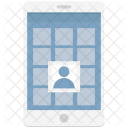Mobile Wireframe Icon