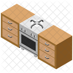Modern Kitchen Icon