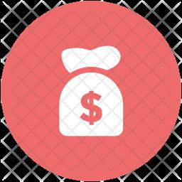Money Glyph Icon