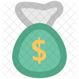 Money Colored Outline Icon