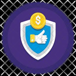 Money Cash Guarantee Icon